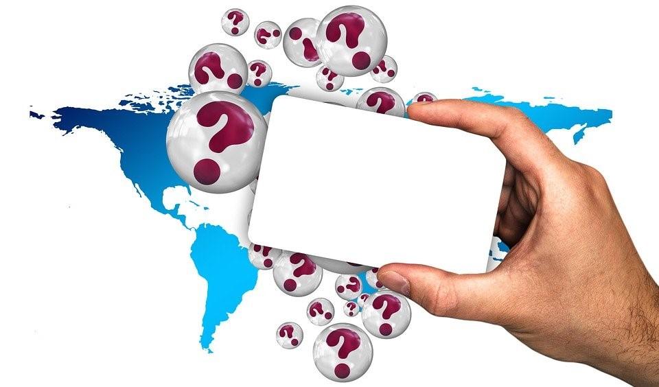 手, カード, 空, 質問, 地図, 世界, 世界地図, クエスチョン マーク, 問題, 不明, 空のカード